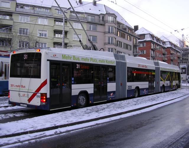 Geneva Trolleybus in Zurich